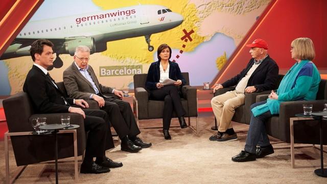 Germanwings Flug 4U9525 Maischberger zu Germanwings-Flug 4U9525