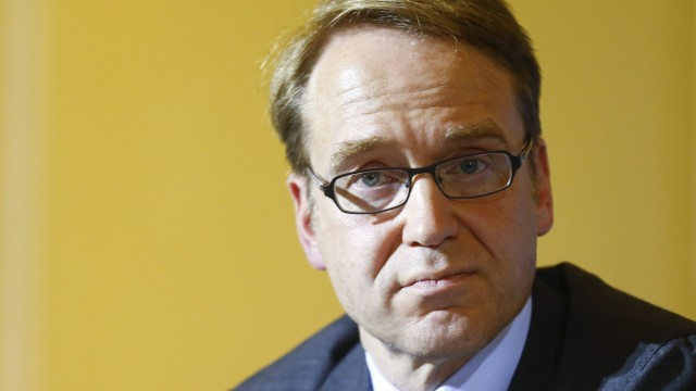 File photo of Weidmann, chief of Germany's Bundesbank