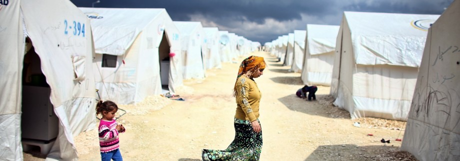 Syrian Refugees Seek Shelter In Turkish Camps
