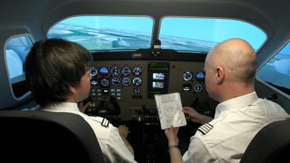 Lufthansa-Tochter trainiert angehende Piloten