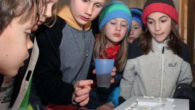 Modell der neuen Gilchinger Montessori-Schule