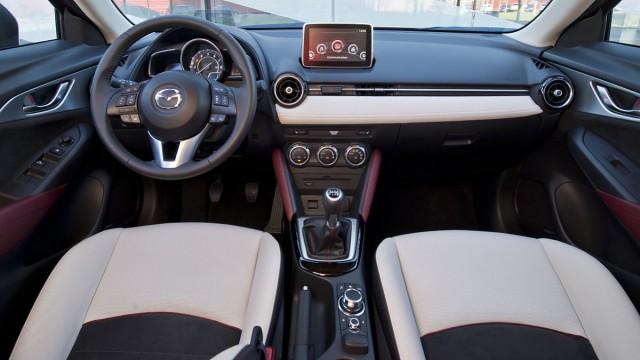Der Innenraum des Mazda CX-3.