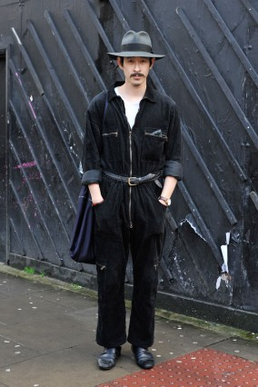 Street Style - London Collections: MEN AW14 - January 06 To January 08, 2014