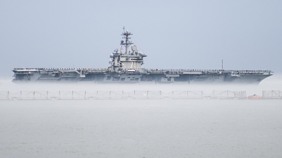 USS Theodore Roosevelt (CVN 71) 2015 deployment