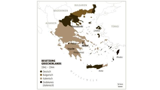 Griechenland Karte Inseln Deutsch.Griechenland Im Zweiten Weltkrieg Erst Widerstand Dann