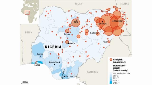 Wahl in Nigeria Präsidentenwahl