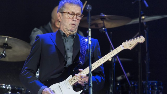 Eric Clapton feiert seinen 70. Geburtstag.