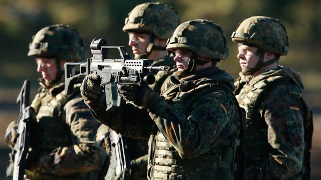 Bundeswehr Holds Media Day