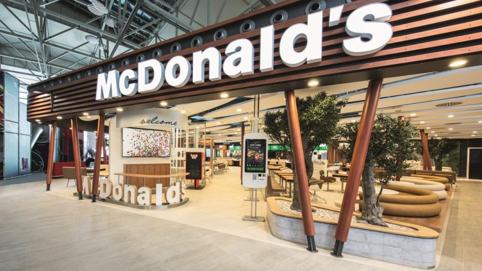 McDonald's präsentiert Restaurant der Zukunft