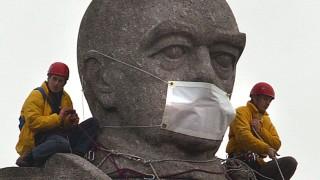 Protestaktion von Greenpeace gegen deutsche Autoproduzenten