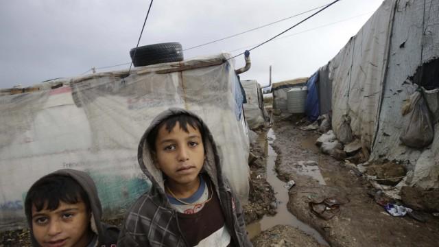 Bürgerkrieg in Syrien Geberkonferenz zu Syrien