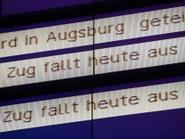 Lage nach Sturmtief Niklas - Bahn