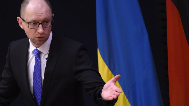 Krieg in der Ukraine Ukrainischer Premier in Berlin