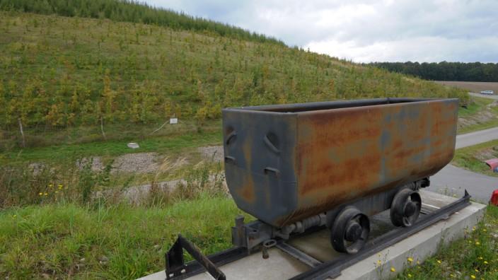 Uranbergbaugebiet kaum noch erkennbar