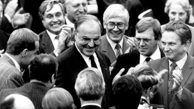 Helmut Kohl wird 85