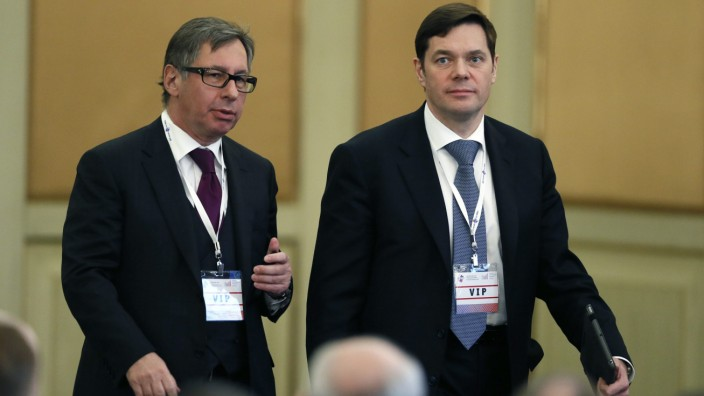 Russian Union of Industrialists and Entrepreneurs (RSPP) congress