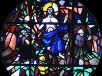 Altarfenster evangelische Erlöserkirche Fürstenfeldbruck