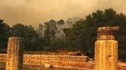 Brandschäden in Olympia