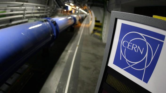 Teilchenbeschleuniger LHC