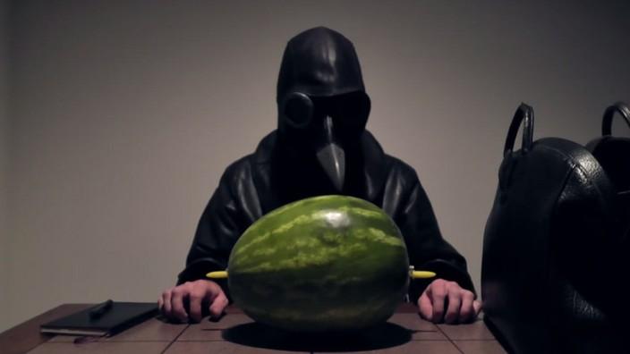 ASMR-Video mit Wassermelone