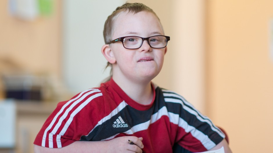 Down-Syndrom-Kind Henri