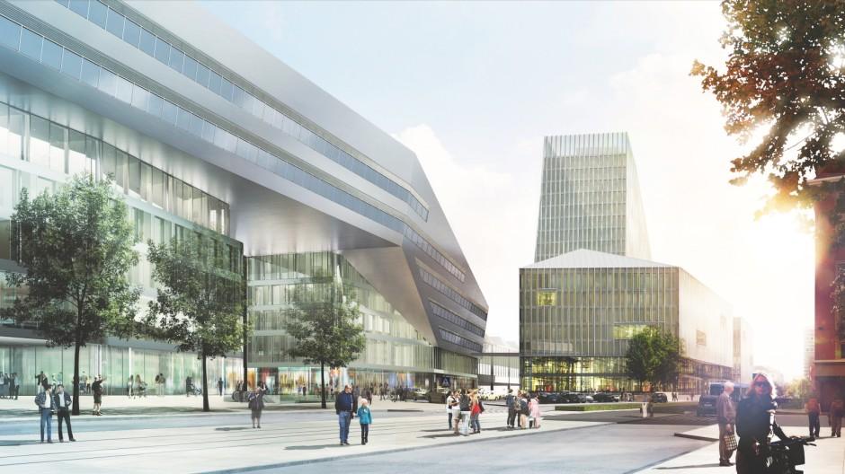 Süddeutsche Zeitung München Kontra Hochhaus