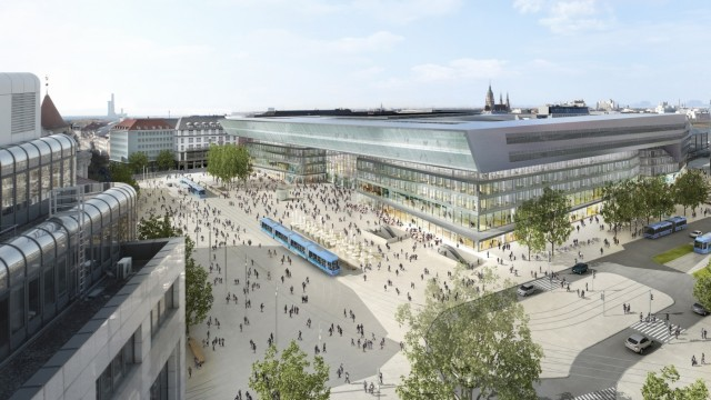 Münchner Hauptbahnhof Umbau des Hauptbahnhofs