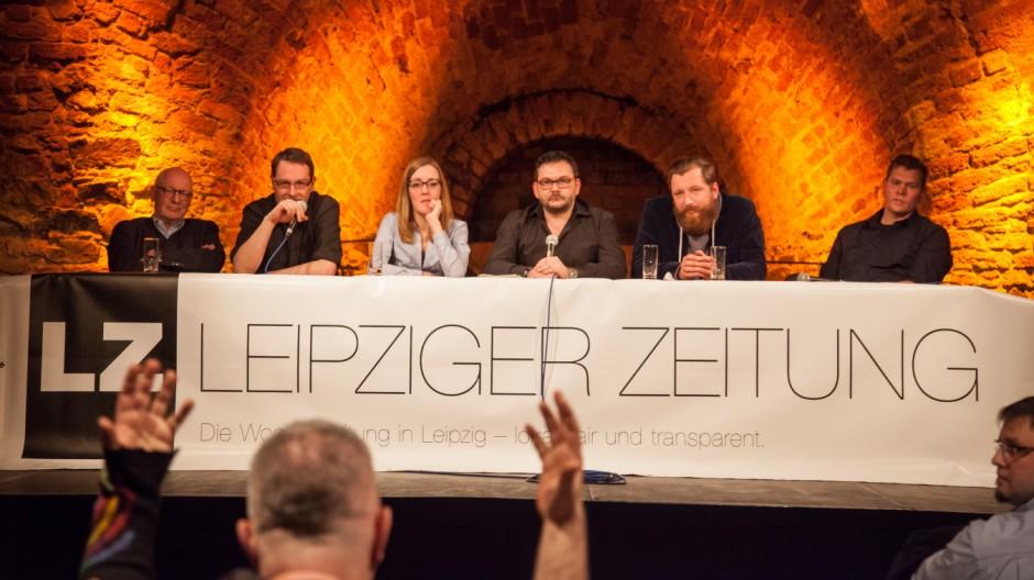 Leipziger Zeitung - Leserkonferenz am 8.4.15 in der Moritzbastei Leipzig