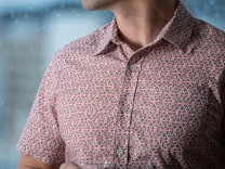 Betabrand: Poo Emoji Button-Up Shirt