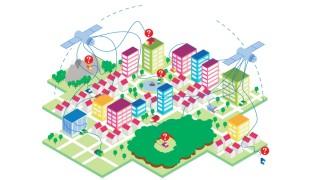 Mobiles Leben Auto Illustration Navigationssysteme ET 11.4.15