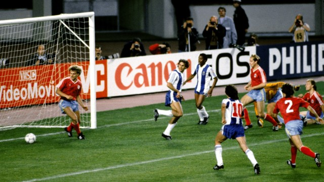 Europapokal der Landesmeister 1987 - FC Porto - FC Bayern München