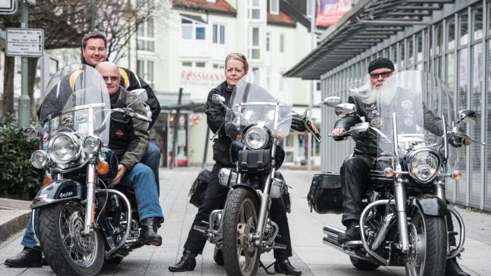 Biker-Stammtisch in Kirchheim/Heimstetten
