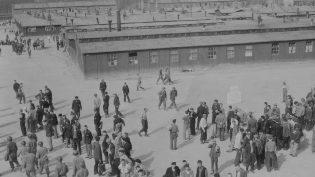KZ Buchenwald Konzentrationslager April 1945