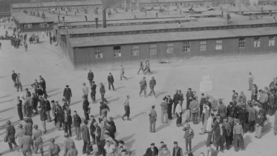 KZ Buchenwald Konzentrationslager April 1945