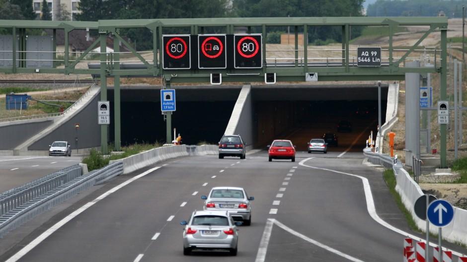 Aubinger Tunnel, 2006
