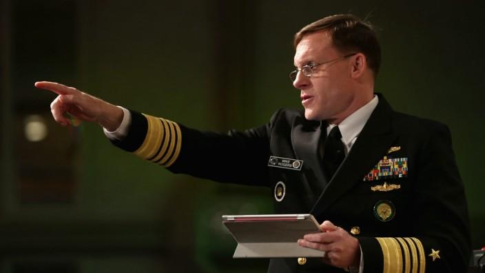 NSA-Direktor Michael Rogers beim Cybersecurity-Kongress in Washington.