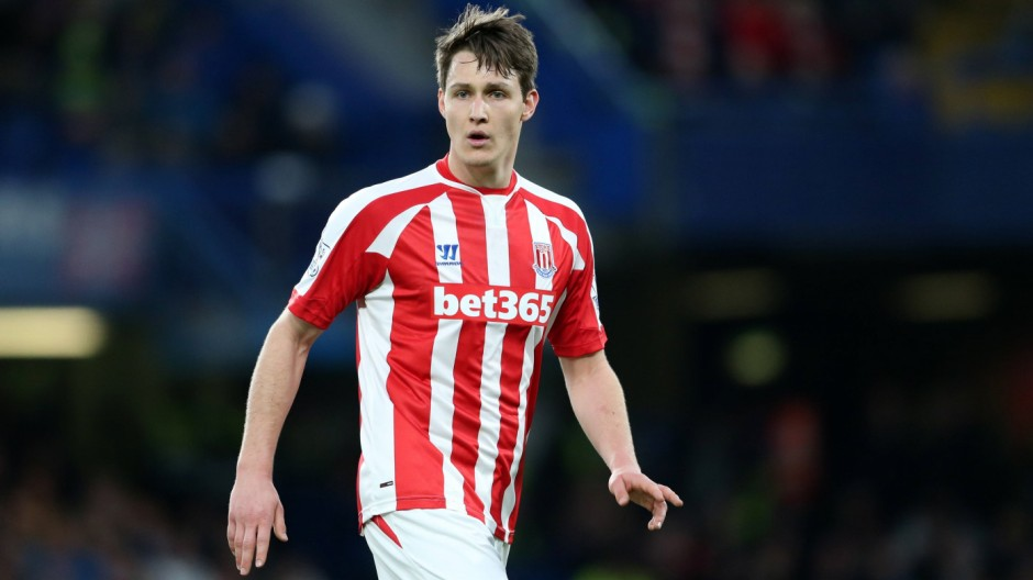 Stoke City s Philipp Wollscheid Barclays Premier League 2014 15 Chelsea v Stoke City Stamford Bridge; Philipp Wollscheid