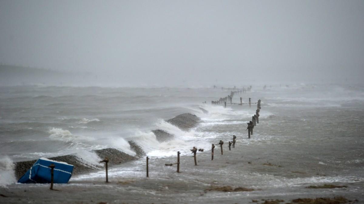 Wucht der Wellen
