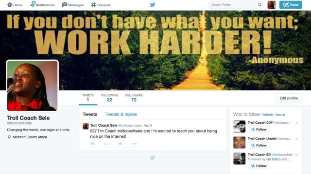 Peng Collective Zero Trollerance Troll Coach