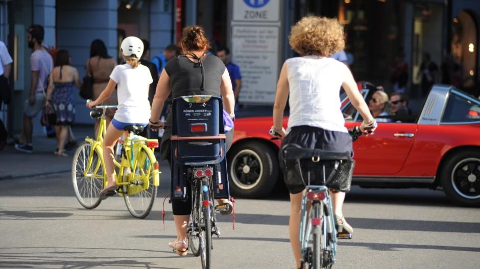 Radfahren Neues Online-Angebot