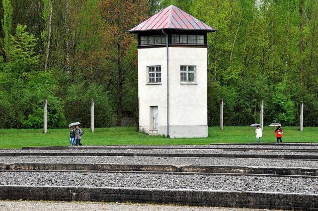 Gedenkfeier Befreiung  Konzentrationslager Dachau vor 65 Jahren