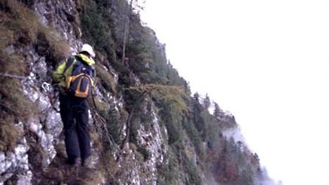 Pidinger Klettersteig : Pidinger klettersteig bis die arme länger werden reise