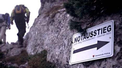 Pidinger Klettersteig : Pidinger klettersteig notausstieg möglich reise süddeutsche