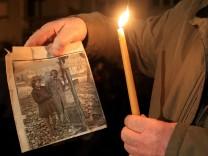 Kundgebung für Reparationsforderungen in Athen