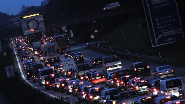 Warnstreik der MVG-Mitarbeiter in München, 2005