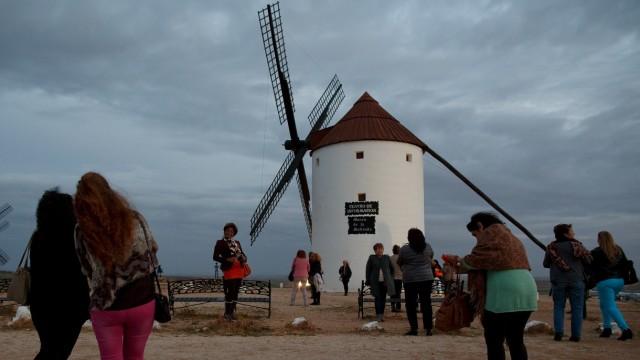 Caravan Of Women Travels To Rural Spain