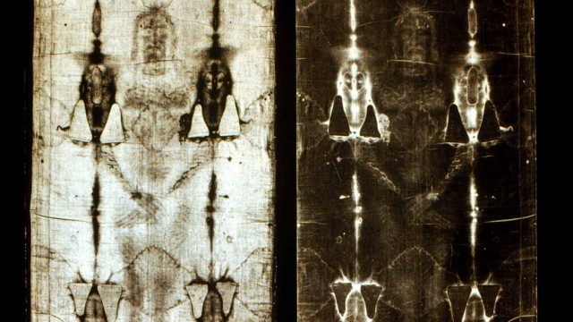File photo of the Shroud of Turin