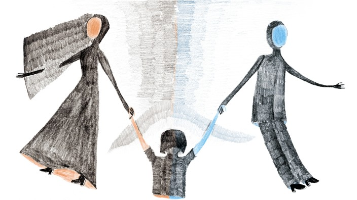Trennung mit Kind