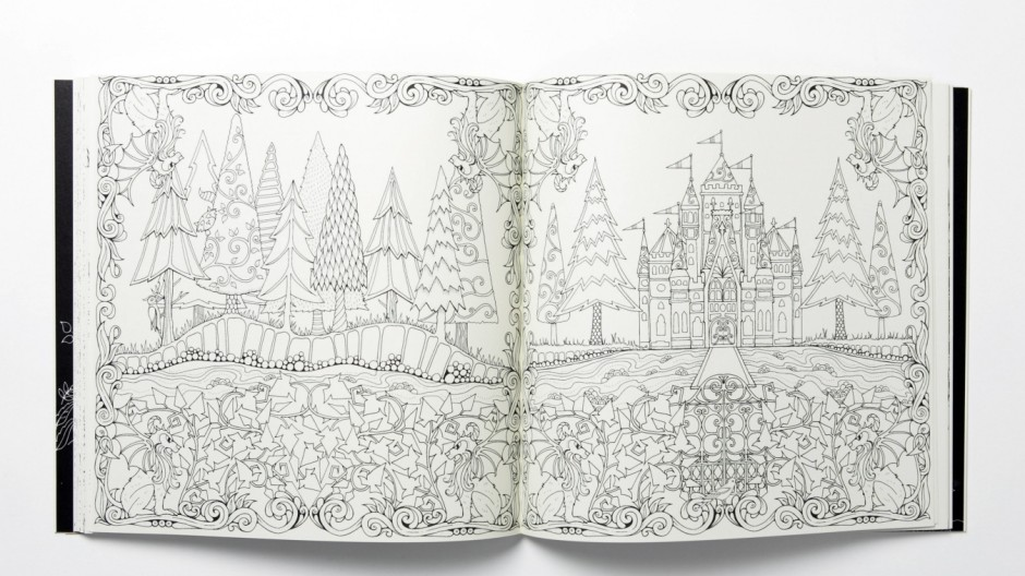 "Pressebilder ""Secret Garden"" Johanna Basford"