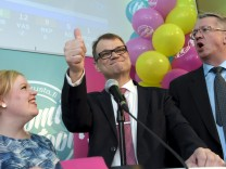 Wahl in Finnland
